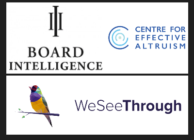 WeSeeThrough, CEA, Board Intelligence logos